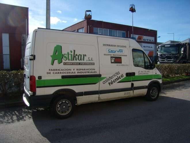 Astikar carrocerías industriales San Sebastián