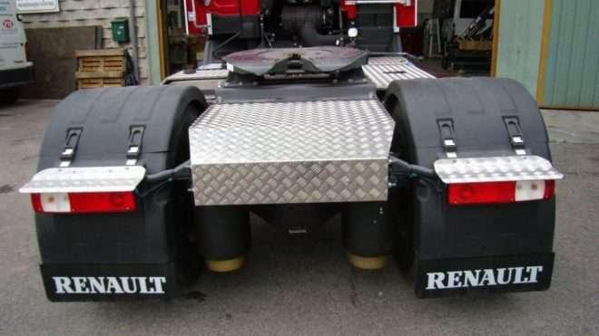 Protections en aluminium pour réservoir et châssis 1